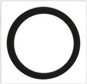 Black Rubber Cockring