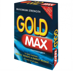 Gold Max 450mg Herbal Erection Pill - 20 Pack