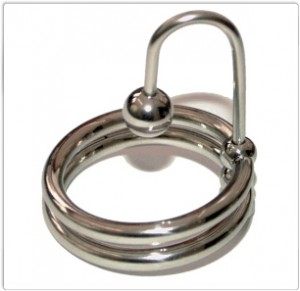 Titus Sperm Stopper with Double Glans Ring: Size Options