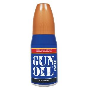 Gun Oil H2O - Water Based Lube 8oz / 237ml