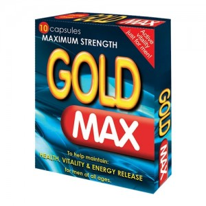 Gold Max 450mg Herbal Erection Pill - 10 Pack