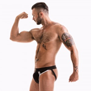 FETISH GEAR Core Jockstrap | Black & White