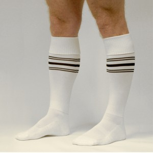 FETISH GEAR Sports Socks | White